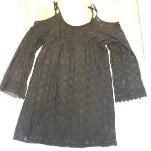 XXL Cold Shoulder Dress EUC
